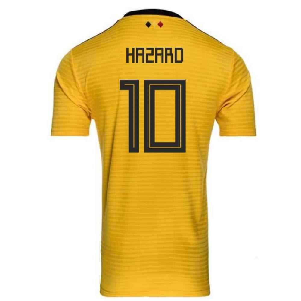 高級品市場 2018-2019 Belgium Size Away Adidas Football (Eden Shirt (Eden XS Hazard 10) B07H9RT2ZM XS - 34-36