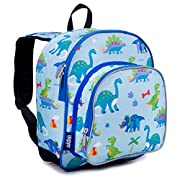 Wildkin 12 Inch Kids Backpack for Toddlers, Boys & Girls, 600 Denier Polyester Backpack for Kids, Ideal Size for School…