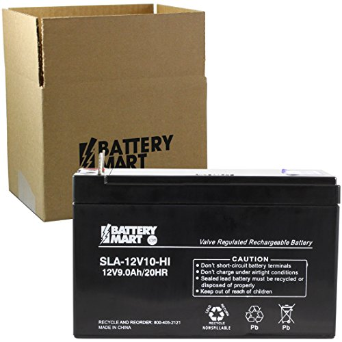 (Replacement 12 Volt 9 Ah Sealed Lead Acid Rechargeable Battery with B1 1/4