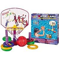 King Sport  Su Oyunu - Mini Pota Ve Halkalar (fn-w12004), Çocuklar, Çok Renkli, Tek Beden