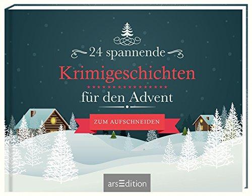 24 spannende Krimigeschichten für den Advent: Amazon.de: Bücher