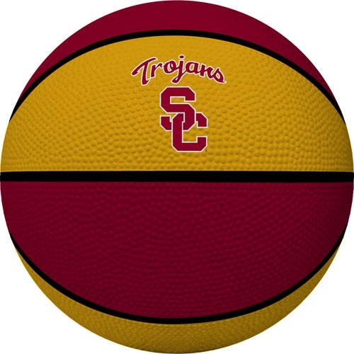 Pacific Collegiate Basketball (NCAA USC Trojans Crossover Full Size Basketball by Rawlings)