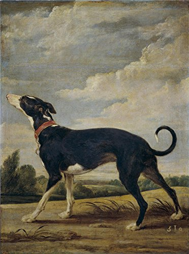 'Vos Paul De Un Galgo Al Acecho ' Oil Painting, 8 X 11 Inch / 20 X 27 Cm ,printed On Polyster Canvas ,this Beautiful Art Decorative Prints On Canvas Is Perfectly Suitalbe For Game Room Decoration And Home Artwork And Gifts
