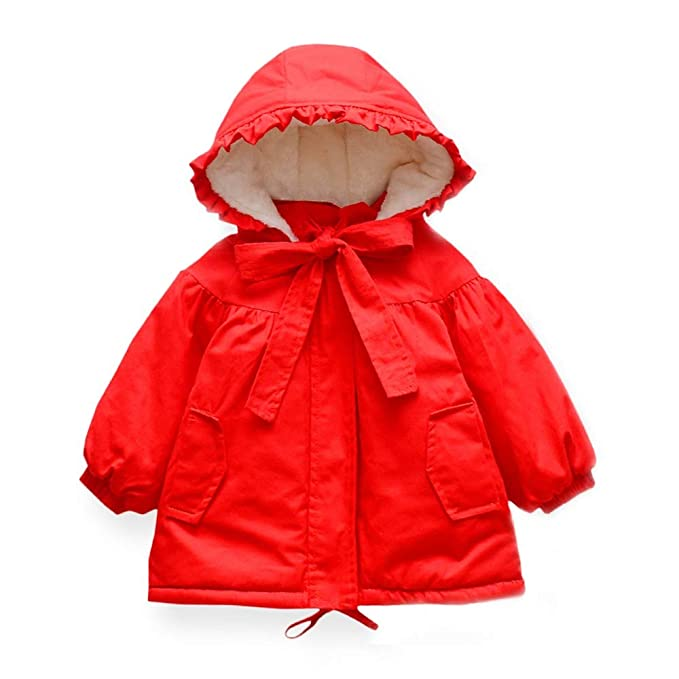 f490db90d620 Amazon.com  KONFA Toddler Baby Girls Winter Warm Clothes