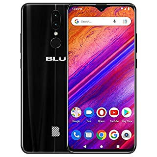 "BLU G9 – 6.3"" HD Infinity Display Smartphone, 64GB+4GB RAM -Black"