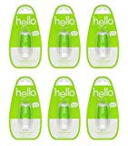 Hello Oral Care Breath Spray, Mojito Mint, 0.24 Fluid Ounce (Pack Of 6)