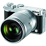 Nikon 1 J5 Mirrorless Digital Camera w/10-100mm Lens (Silver)