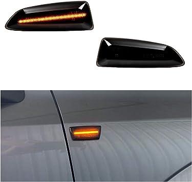 2 frecce laterali a LED colore fumo//nero//arancione//giallo