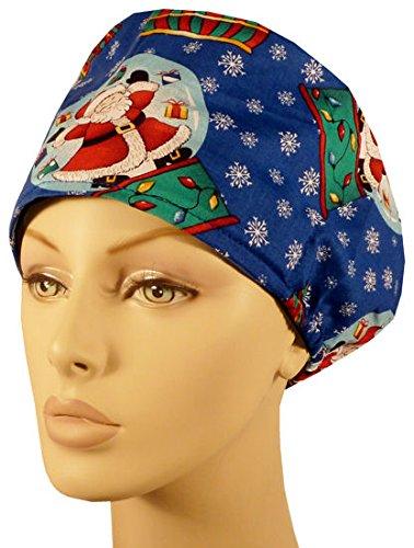 Riley Medical Scrub Caps Snow Globes On Royal
