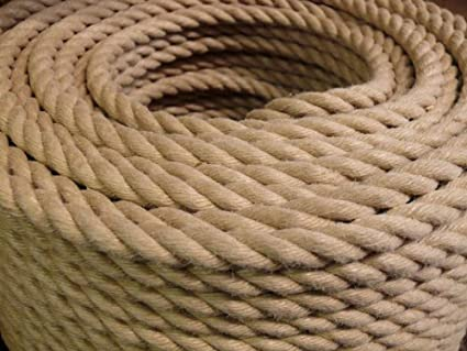 Westward Ropes Polyhemp Synthetic Hemp Rope 24mm Price Per Metre Amazon Co Uk Garden Outdoors