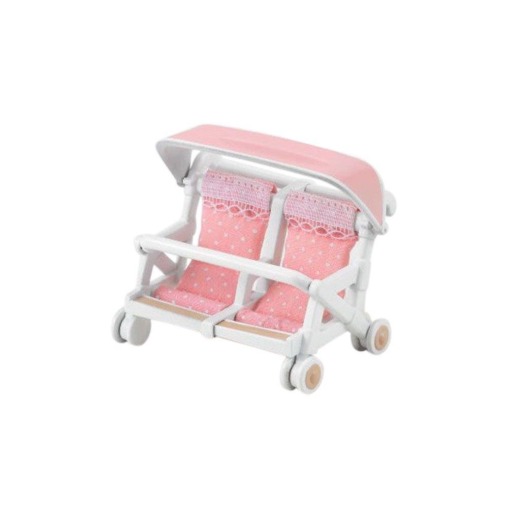 Sylvanian Families - Familias - Triple litera cama, semi-double cama y cochecito de bebé - 3 Sets: Amazon.es: Juguetes y juegos
