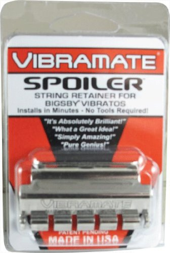 (Vibramate String Spoiler For Bigsby Vibratos, Stainless Steel)