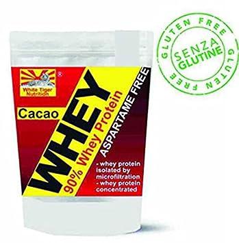 Proteína WHEY Bodybuilding alto valor biológico Con vitaminas y glutamina 1500 gr sabor a vainilla: Amazon.es: Deportes y aire libre