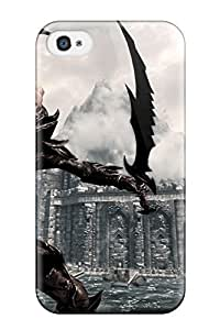 Iphone Case - Tpu Case Protective For Iphone 4/4s- Warrior Video Game 2544615K66758479 by icecream design