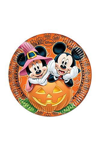 Procos S.A. Mickey Mouse Halloween Dinner Plates ()