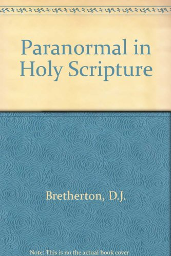 Paranormal in Holy Scripture