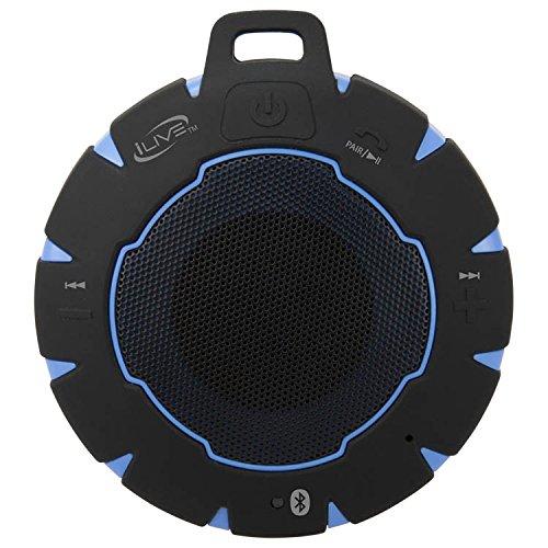 iLive- Portable Bluetooth Speaker - Black/Blue