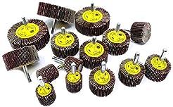 15pc Flap Sanding Wheels Kit for Drill, ...
