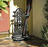 Heavy duty ornate brolly umbrella stand