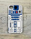 Case Cartel® R2D2 Star Wars Artist Illustration Phone Case for iPhone 4 / 4S - Retail Packaging (White)