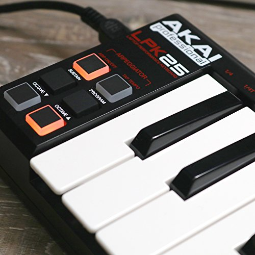 Akai Professional LPK25 | 25-Key Ultra-Portable USB MIDI Keyboard Controller for Laptops - Image 9