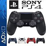 SONY 純正 PS4ワイヤレス コントローラー DUALSHOCK 4 インタラクティブエンタテインメント 正規品 Playstation 4 ブラック