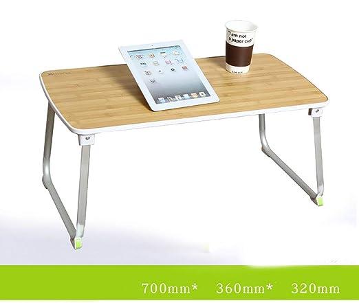 KISlink Cama con Mesa Plegable pequeña computadora de la ...