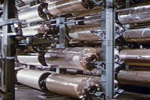 Vintage Plastic & Mylar Industry Manufacturing Films DVD: DuPont, General Electric and other Plastics Material Production Movies (Tubing Material)