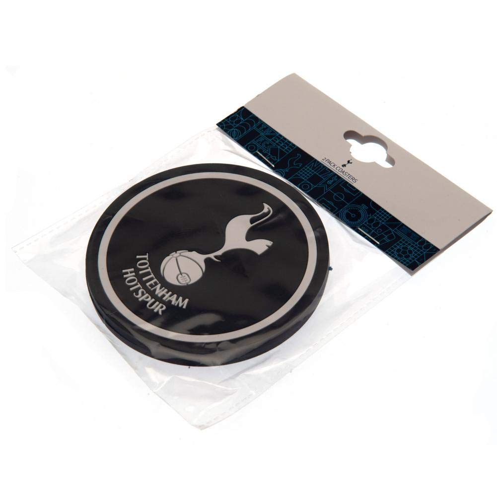 Tottenham Hotspur FC Coaster Set Blue One Size Pack Of 2