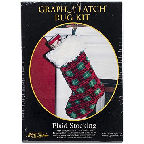 MCG Textiles Plaid Stocking Latch