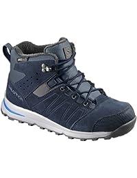 Kid's Utility TS CSWP Junior Suede, Fleece, Textile, Hiking Boots