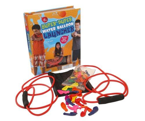 The Super Duper Water Balloon Launcher Kit: Ready! Aim! Splash! (Balloon Splash)