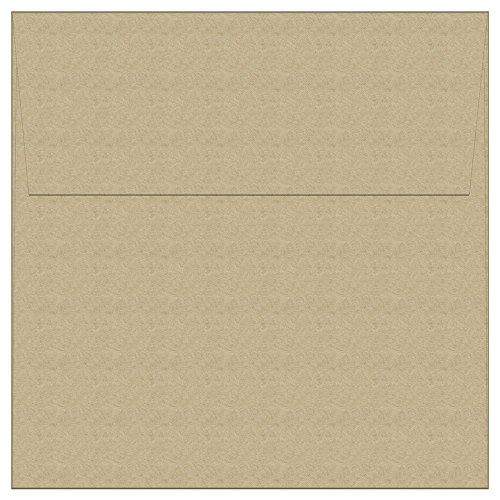 100 Kraft Square Envelopes - 5.5