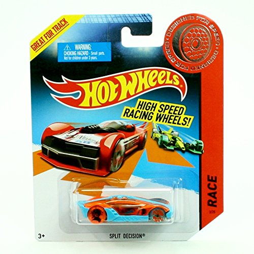 SPLIT DECISION Hot Wheels - Designed For Speed - 2013 High Speed Racing Wheels Series Vehicle (High Speed Series)