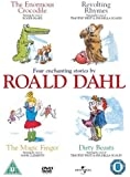 "Four Enchanting Stories By Roald Dahl (""The Enormous Crocodile"", ""Revolting Rhymes"", ""The Magic Finger"" and ""Dirty Beasts"") [DVD]"