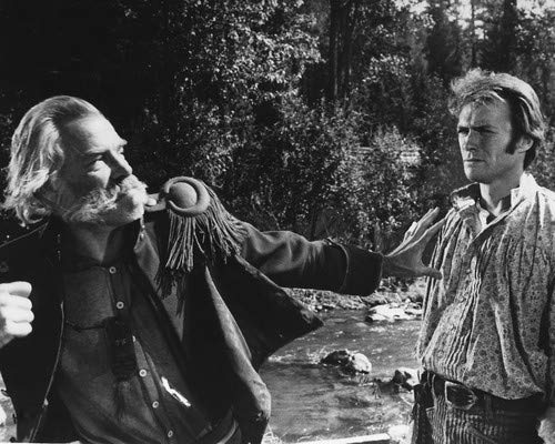 Clint Eastwood and Lee Marvin in Paint Your Wagon brawling scene 16x20 Poster (Lee Marvin Clint Eastwood Paint Your Wagon)