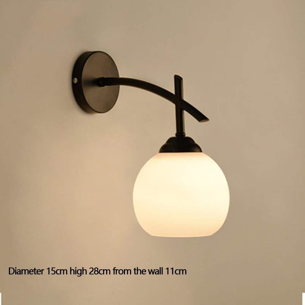 Einfache Wand Lampe Lampen für Treppen Wohnzimmer Wand Balkon Flur Gang LED Licht Neue (Farbe  F)