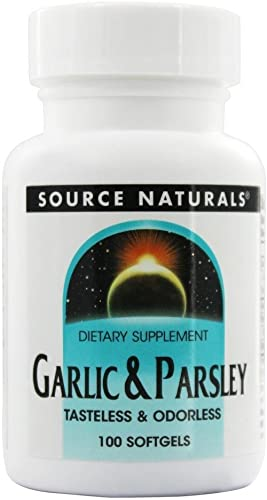 Garlic Parsley Oil 500 100mg Source Naturals, Inc. 100 Softgel