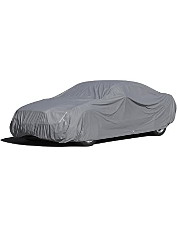 OxGord 5 LayerPly Duty Waterproof Car Cover with Fleece Inner Lining, Fits Cars up to