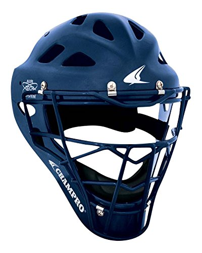 Champro Sports Hockey Style Headgear, Navy, 7-7½