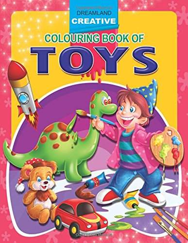Toys (Creative Colouring Books)