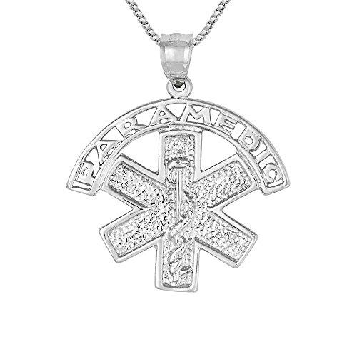 Medical Symbol Sterling Silver Charm - 9