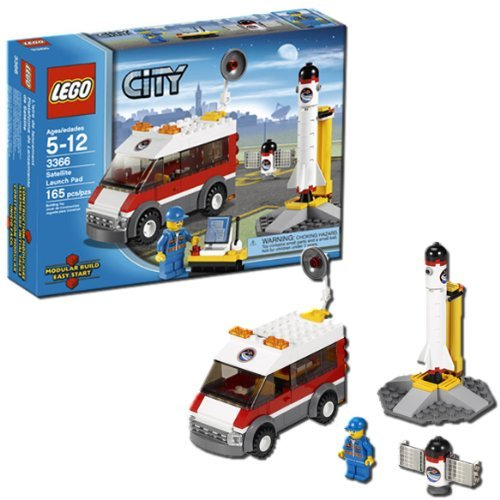 LEGO CITY Satellite Launch Pad - Pad Space Shuttle Launch