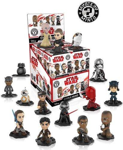 Funko Mystery Mini Star Wars-Episode 8 The Last Jedi 8 - Wars Figures Mini Game Star