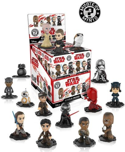 Funko Figura Mystery Mini Star Wars Episodio VIII, multicolor (0889698202473) , color/modelo surtido