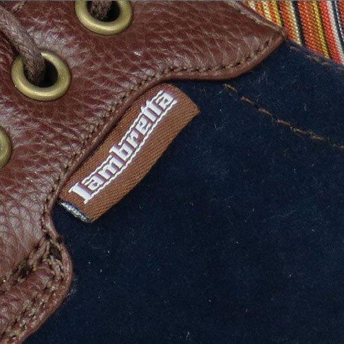 Lambretta Rico Mens Avslappnade Sneakers / Skor Navy
