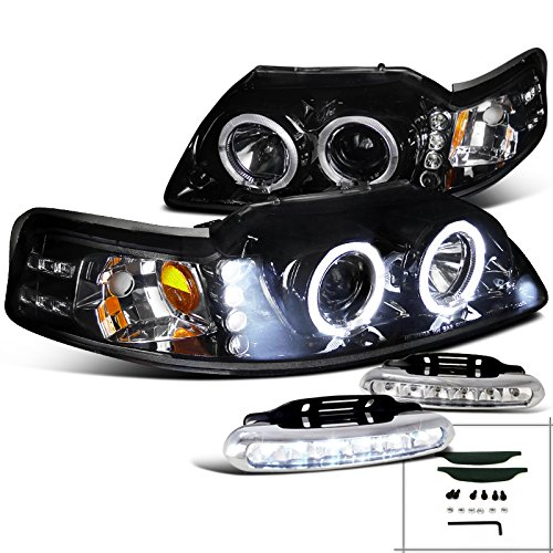 99 mustang halo headlights - 8