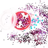 SLIMYGLOOP Mix'Ems by Horizon Group USA- Unicorn, Mix & Create Your Own Pink Sparkly Unicorn Slime with Sequin & Confetti Add Ins