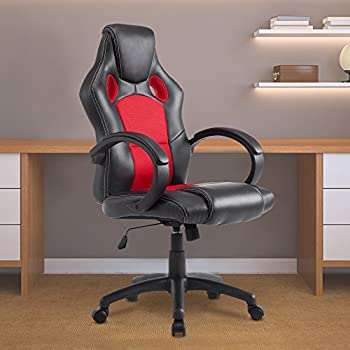 acepro office chair desk chair computer gaming chair high back leather office desk chairs adjustable executive