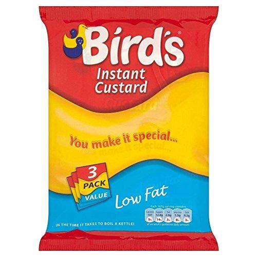 Bird Low Fat Food - Bird's Instant Custard Mix Low Fat (3x75g)